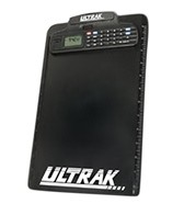 Ultrak Clipboard with Stopwatch and Calculator