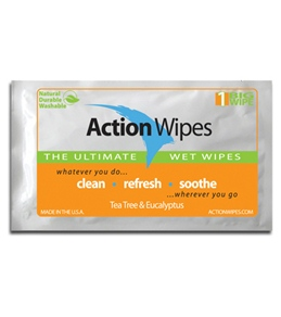 Action Wipes Single Pack