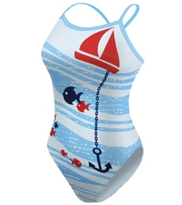 ClubSwim Smooth Sailing Drag Suit (Unlined Back)