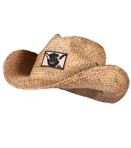 Quiksilver Guys' Ranger Straw Cowboy Hat