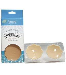 Bravo Nude Silicone Smoothies Nipple Covers