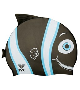TYR Happy Silicone Swim Cap Junior Size