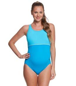 EQ Swimwear Harmony Maternity Splice One Piece