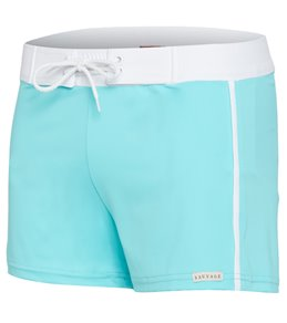 Sauvage The 252 Solid Retro Square Cut Swim Shorts