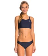 TYR Solid Diamondfit Workout Bikini Swimsuit Set