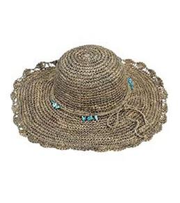 Sun N Sand Crocheted Turquoise Small Bead Trim