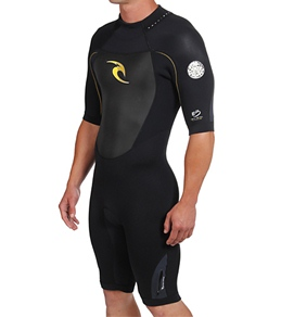 Rip Curl Guys' Dawn Patrol S/S 2mm Spring Wetsuit