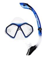U.S. Divers Admiral 2LX/Island Dry Mask and Snorkel Set