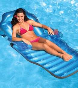 Poolmaster Adjustable Chaise Floating Lounge