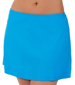 Sunsets Caribbean Blue Cover Up Skirt