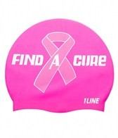 1Line Sports Find A Cure Silicone Cap