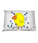 1Line Sports Swim Chick Pillow Case