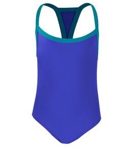 Clubswim Piped Thin Strap 4-6X