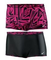Nike Swim Angled Lanes Reversible Mesh Drag Suit