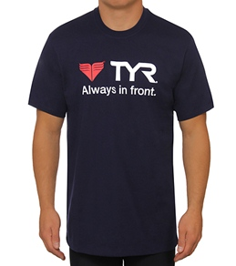 TYR Male Logo Tee