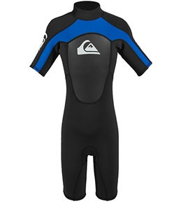 Quiksilver Boys' Syncro 2mm S/S Spring Suit