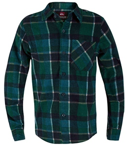 Quiksilver Boys'/Kids' Guile L/S Flannel Shirt