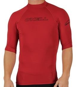 O'Neill Guys' Basic Skins S/S Crew Top