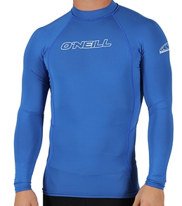 O'Neill Guys' Basic Skins L/S Crew Top