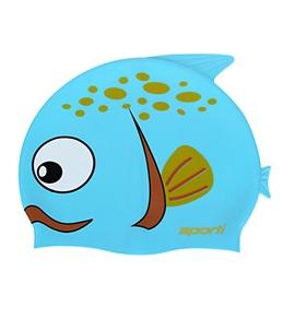 Sporti Cartoon Guppy Silicone Swim Cap Jr.