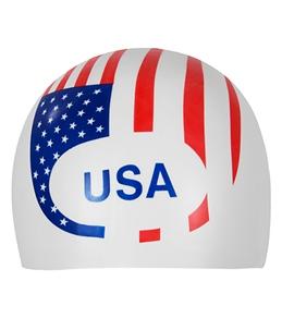 Sporti Silicone USA Cap
