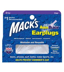 Mack's Aqua Block Earplugs