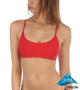 Sporti Solid Y-Back Workout Bikini Top
