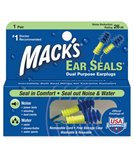 Mack's Ear Seals Earplugs