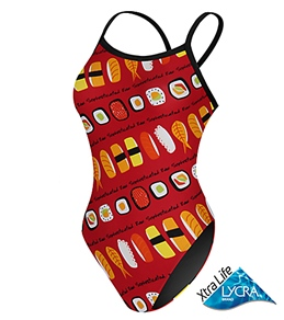Sporti Sushi Thin Strap Swimsuit