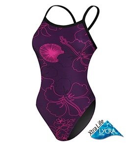 Sporti Urban Dandelion Thin Strap Swimsuit