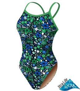 Sporti Island Garden Thin Strap Swimsuit