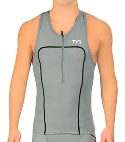TYR Carbon Men's Tank w/Zipper
