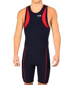 TYR Carbon Men's Zipper Back Short John