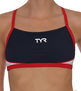 TYR Carbon Women's Thin Strap Tri Top