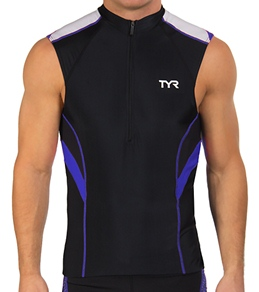 TYR Competitor Men's Sleeveless Cycling Jersey