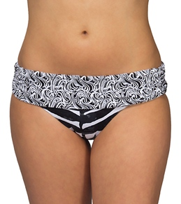 Kenneth Cole Graphic Nature Sash Hipster Bottom