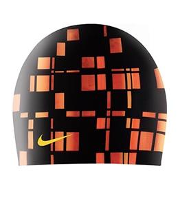 Nike Swim Square Repeat Silicone Cap