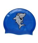 Bettertimes Sharky Solid Latex Swim Cap