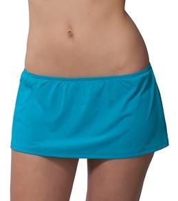 Calvin Klein Solid Skirtini Bottom
