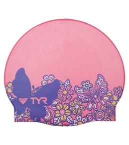 TYR Woodstock Silicone Swim Cap