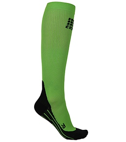 CEP Men's Green Running Compression Sock