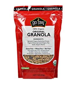 """Go Raw Live """"Granola"""" Cereal 1lb.- Individual Units"""