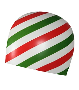 Sporti Candy Stripe Silicone Cap