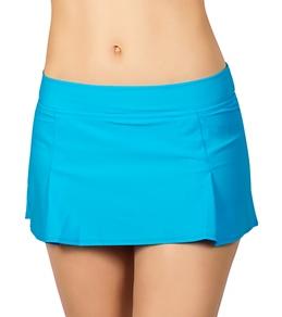 H2Oh! Solid Banded Swim Skirt Bottom
