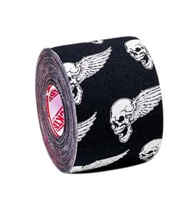 "Rock Tape Skull Print Standard 2"""