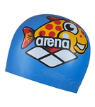 arena-multi-jr.-arena-world-silicone-swim-cap