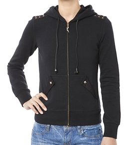 Rusty Girls' Glam Rock Zip Up Hoodie