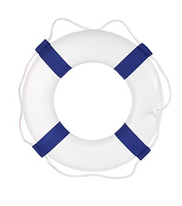 "Poolmaster 19"" Lifestyle Foam Ring Buoy"