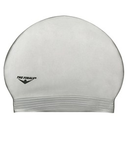 The Finals Solid Latex Swim Cap