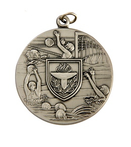 "1.75"" Water Polo Die Struck Medal"